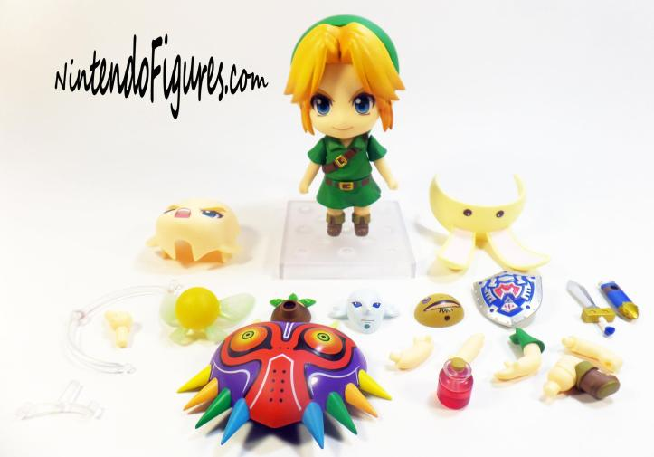 Majora's Mask Link Nendoroid Accesories
