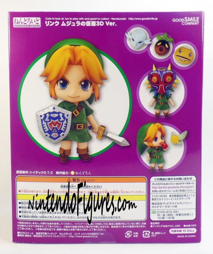 Majora's Mask Link Nendoroid Box