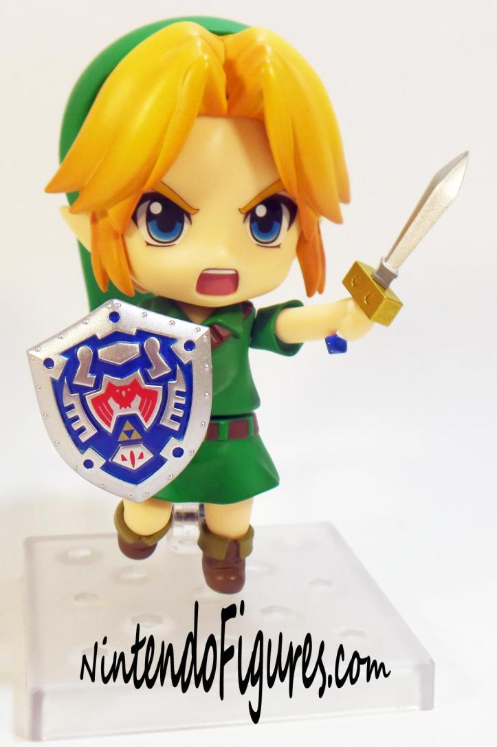 Majora's Mask Link Nendoroid Sword and Shield 2