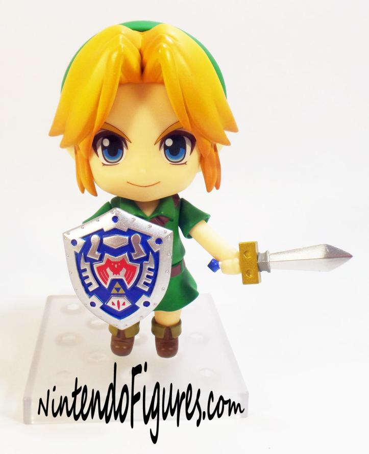 Majora's Mask Link Nendoroid Sword and Shield