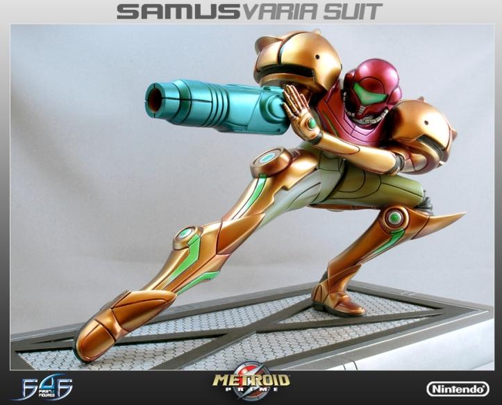 Metroid Varia Suit Statue Older Release