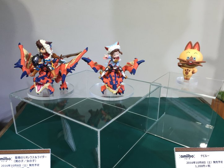 Monster Hunter Hunters Amiibo Prototype