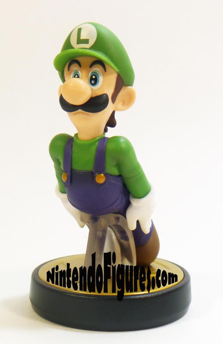 Smash Brothers Luigi Amiibo