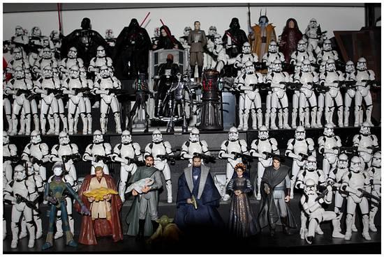 Star Wars Figure Display 1