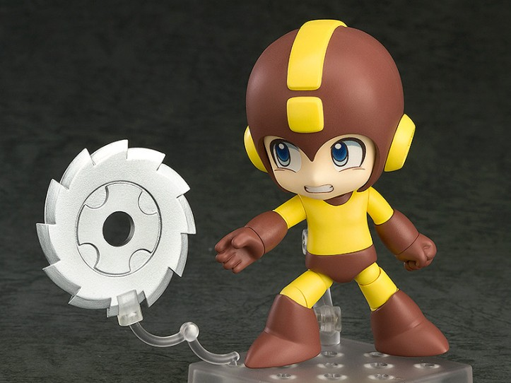 Mega Man Nendoroid Metal Blade Version with Saw