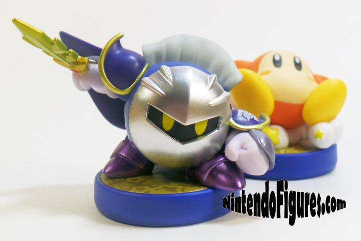 Meta Knight and Waddle Kirby Amiibo