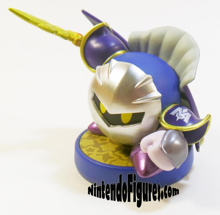 Meta Knight Kirby Amiibo Detail