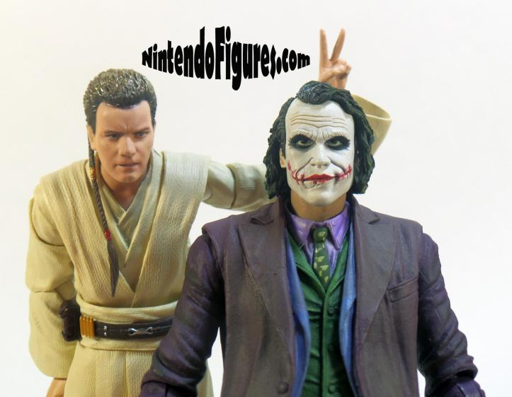 S.H. Figuarts Star Wars Obi-Wan Kenobi Bandai and Neca Joker