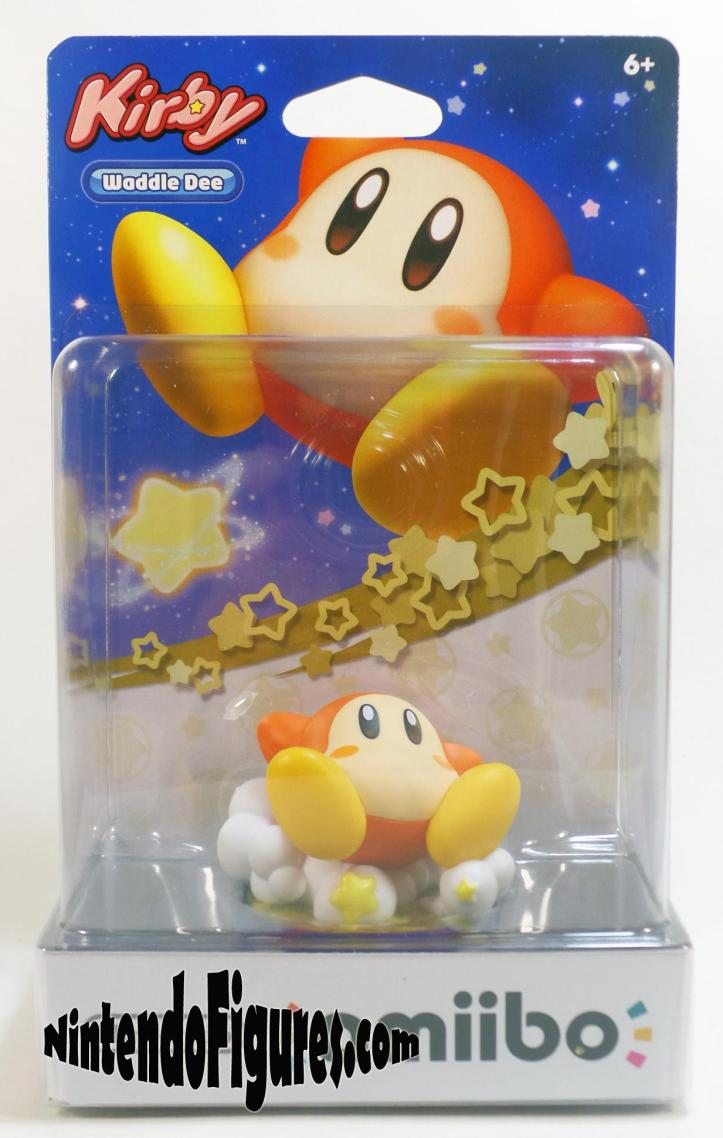 Kirby Waddle Dee Amiibo Box