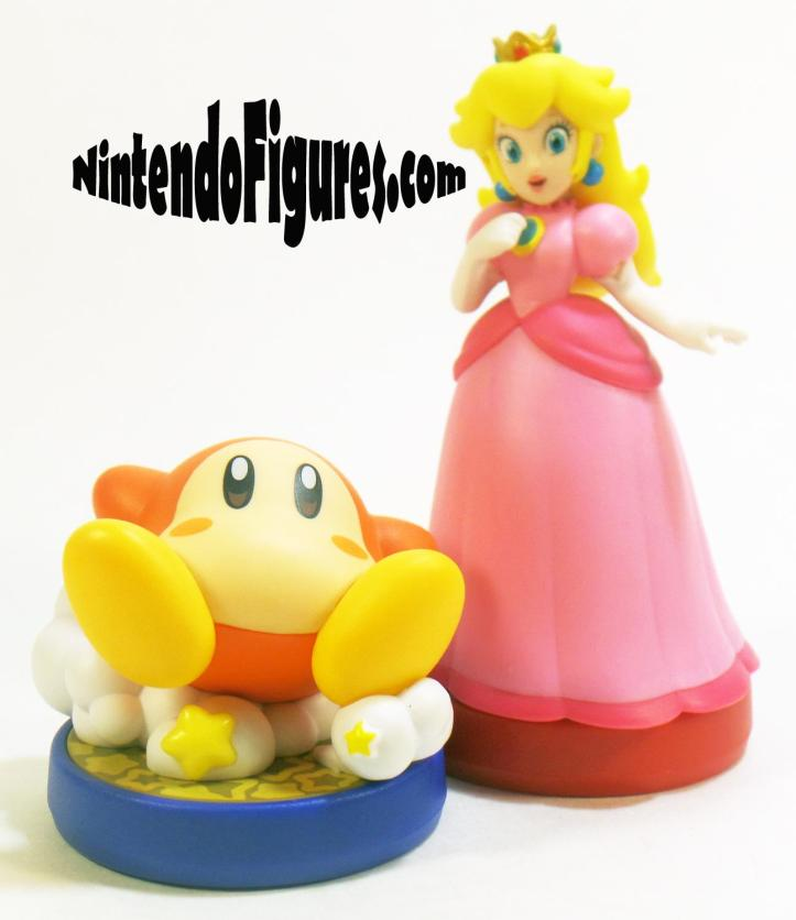 Kirby Waddle Dee Amiibo Size Comparison