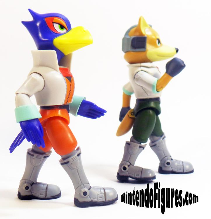 World of Nintendo Falco and Fox McCloud