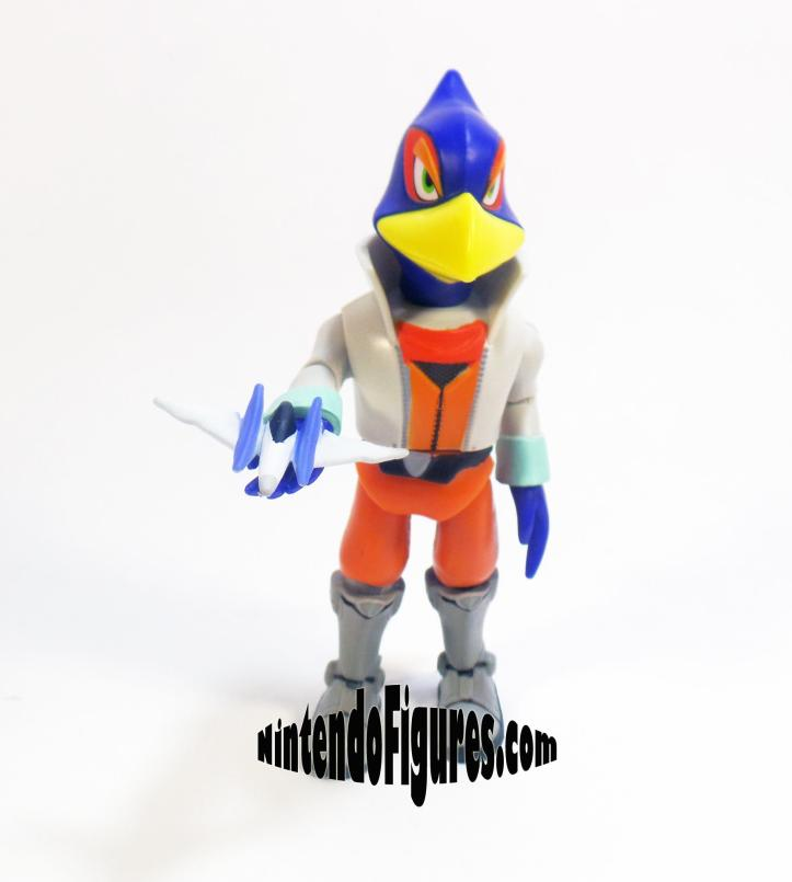 World of Nintendo Falco Figure with Arwing