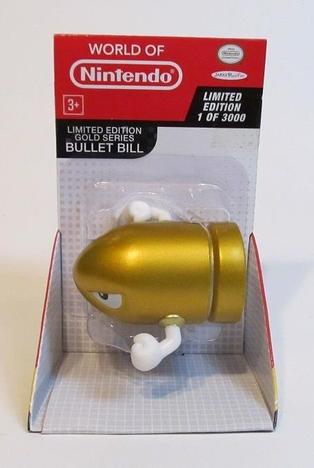 WORLD OF NINTENDO GOLD BULLET BILL
