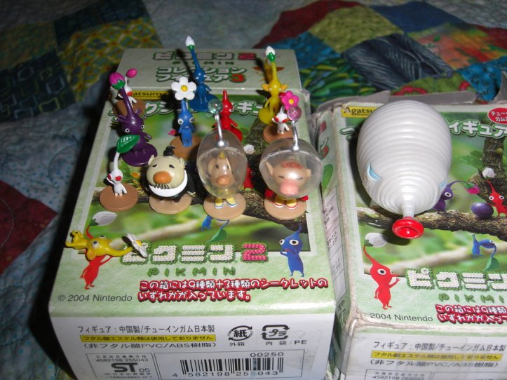 Agatsuma Pikmin Figures and Box