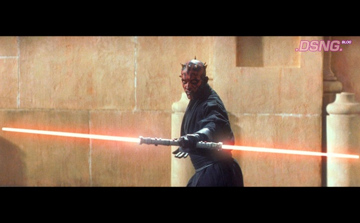 Darth Maul Episode One Phantom Menace Movie Pose 1