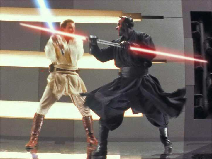 Darth Maul Episode One Phantom Menace Movie Pose 2