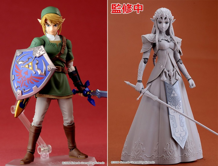 Link and Zelda Twilight Princess Figma