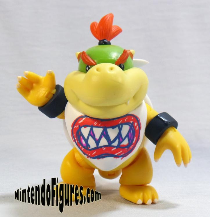 Bowser Jr. World Of Nintendo 4″ Figure Review