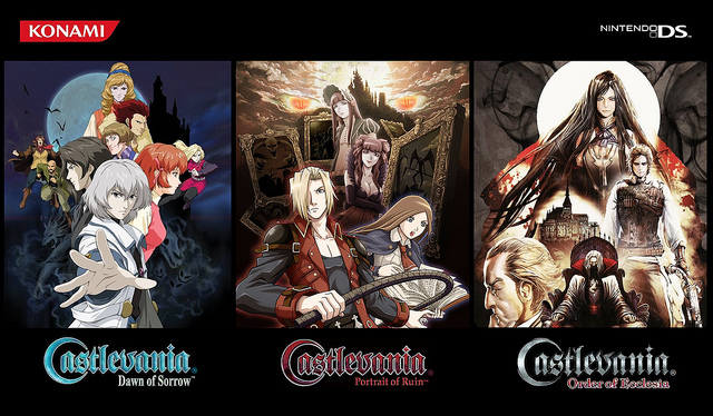 Castlevania DS Games