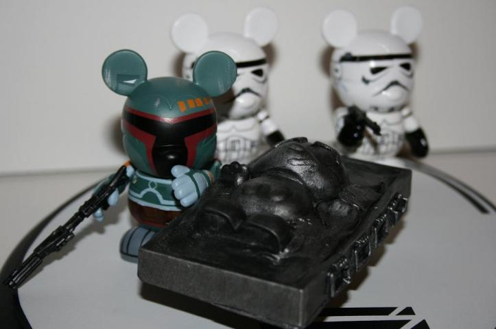 Evilos Custom Star Wars Mickey Mouse Vinyl Figures
