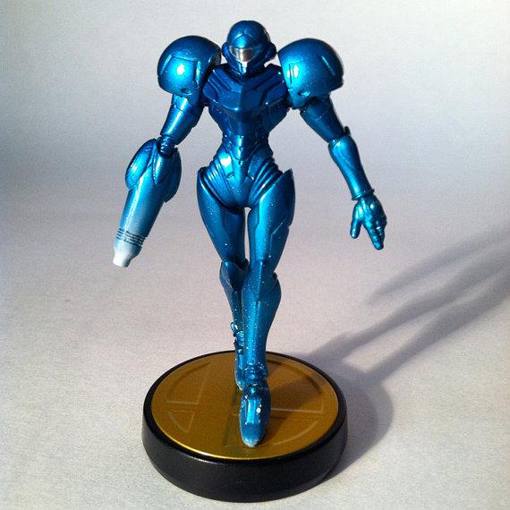 Evilos Custom Zero Suit Samus Amiibo 1