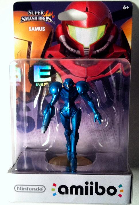 Evilos Custom Zero Suit Samus Amiibo 2