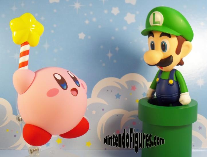 Kirby-Nendoroid-Meets-Luigi-Nendoroid