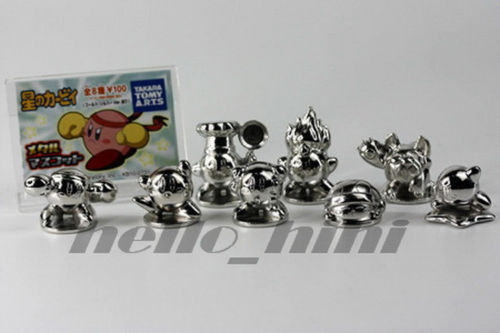 Metal Kirby Tomy Takara Gashapon Set 1