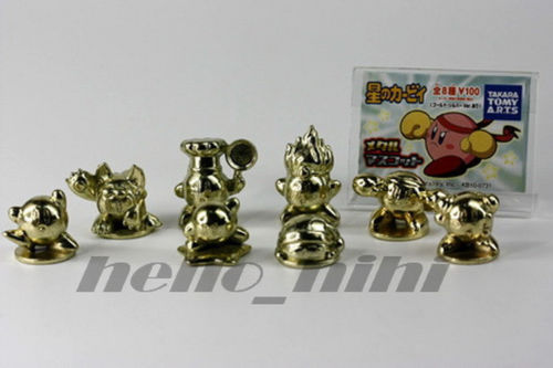 Metal Kirby Tomy Takara Gashapon Set 2
