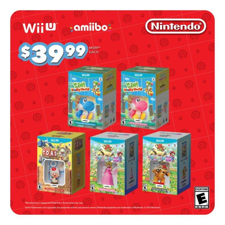 New Nintendo Amiibo Bundles