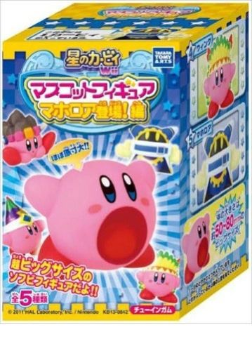 Tomy Takara Kirby Return to Dream Land Gashapon Box