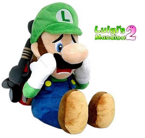 luigi's mansion 2 plush