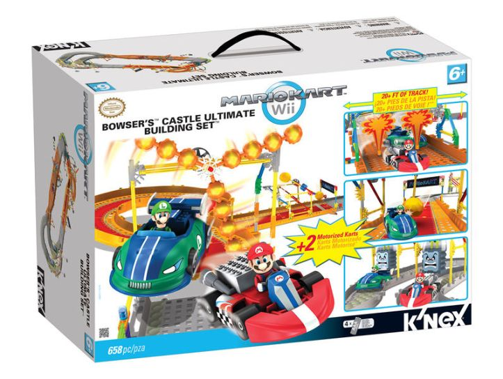 Mario Kart Wii Bowsers Ultimate Castle K'nex