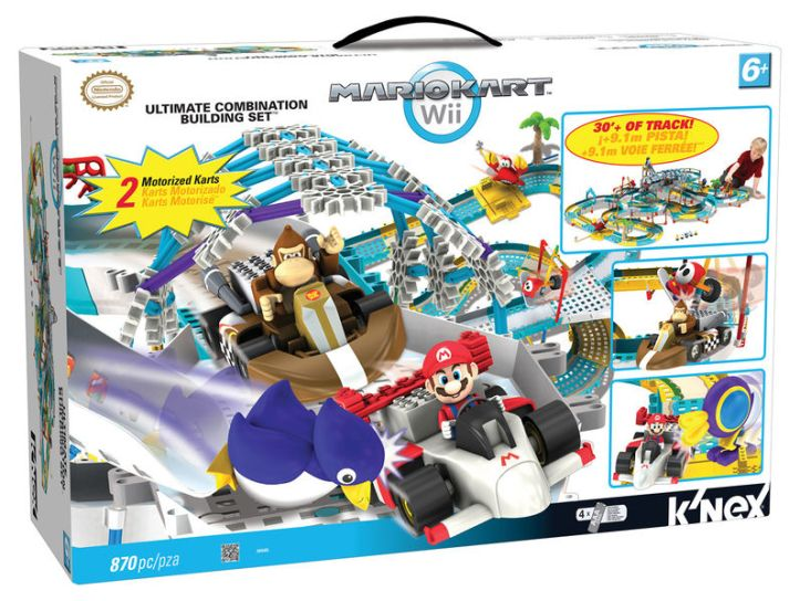 Mario Kart Wii Ultimate Combination Building Set K'nex
