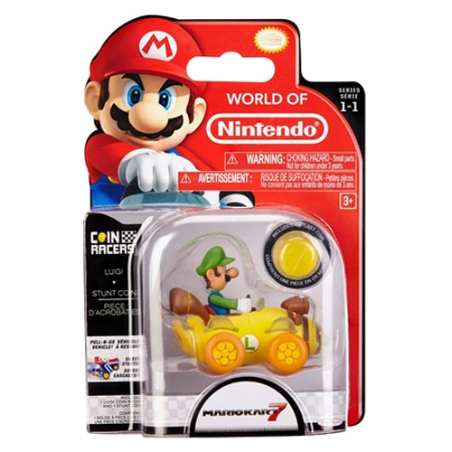 World of Nintendo Coin Racers Luigi