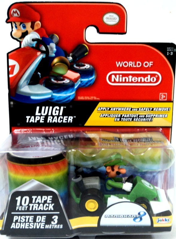 World of Nintendo Luigi Tape Racers 1-3