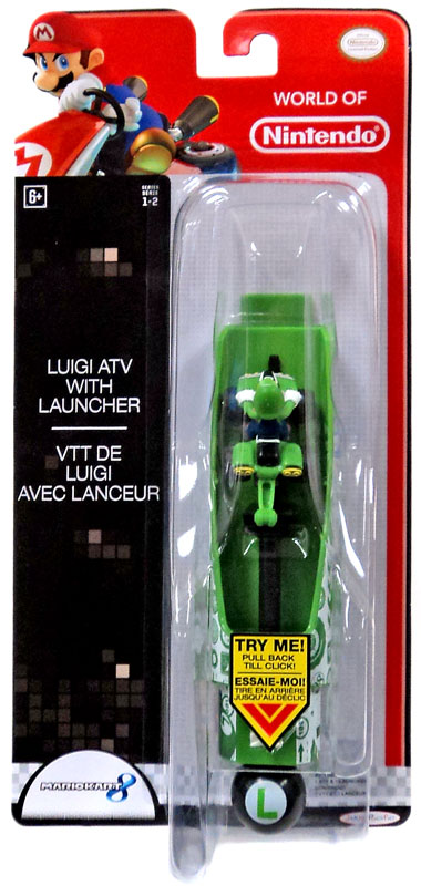 World of Nintendo Wall Climbers Luigi ATV