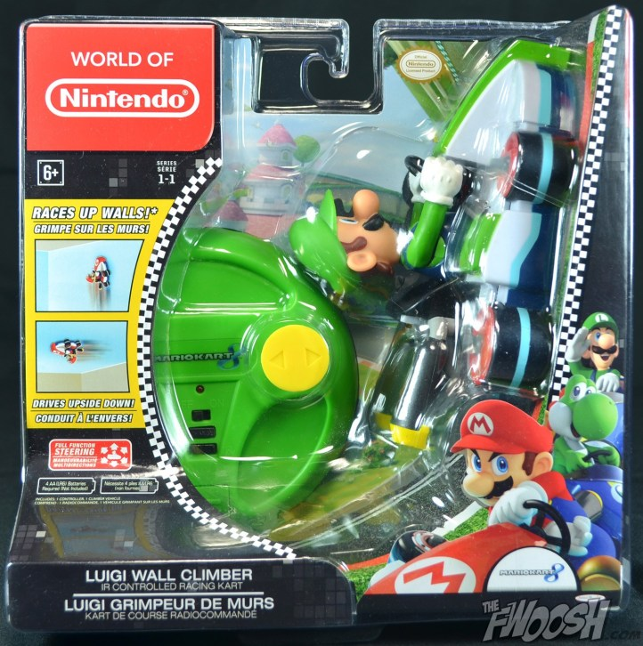 World of Nintendo Wall Climbers Luigi