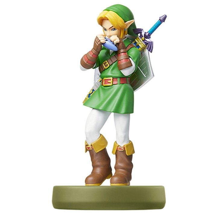 Zelda 30th Anniversary Ocarina of Time Link Amiibo
