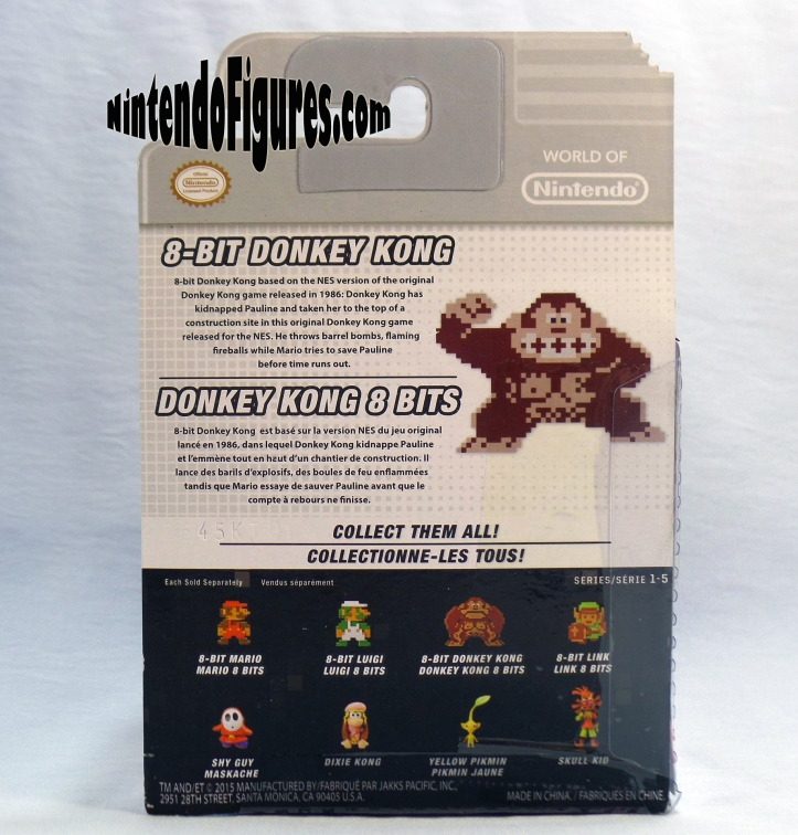Donkey Kong World of Nintendo box-back