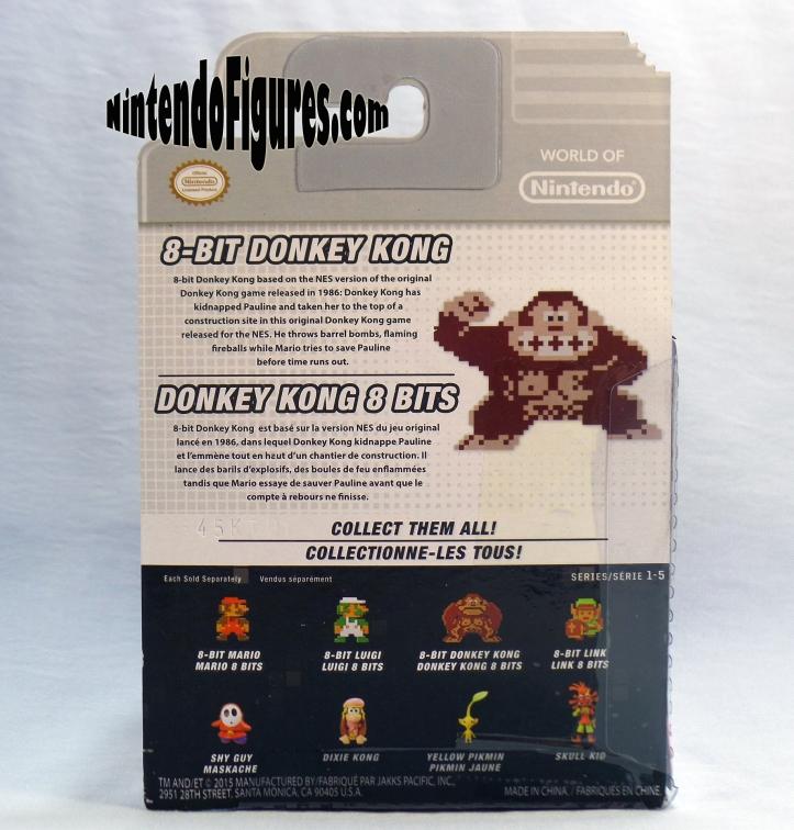 Donkey Kong World of Nintendo box-back