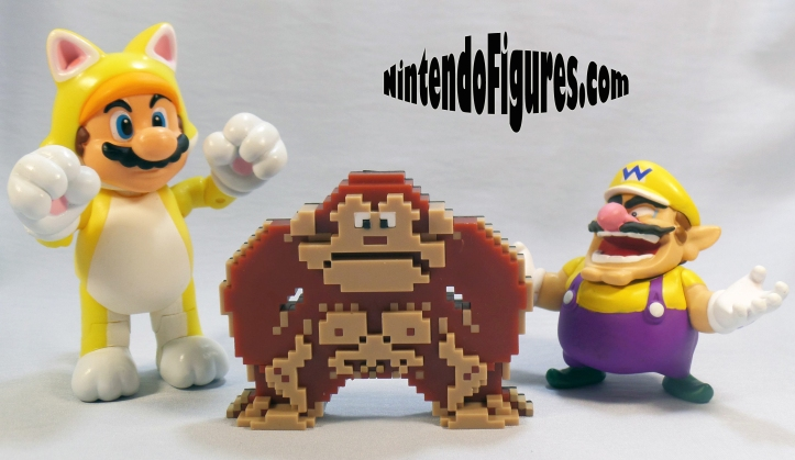 Donkey Kong World of Nintendo size comparison