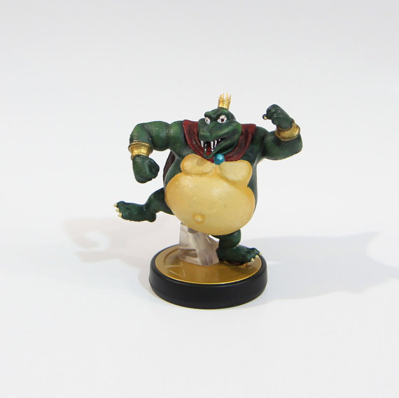 King K. Rool Custom Amiibo 1