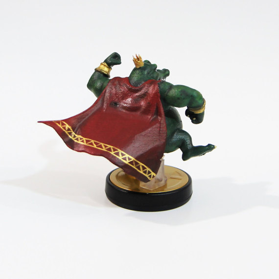 King K. Rool Custom Amiibo 2