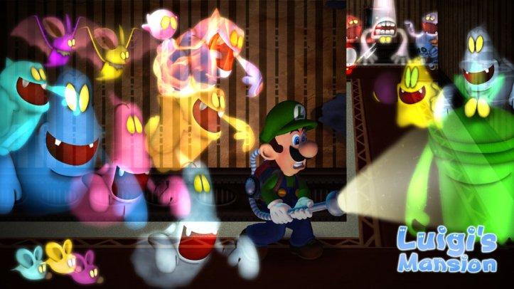 Ghosts Luigi's Mansion Gamecube