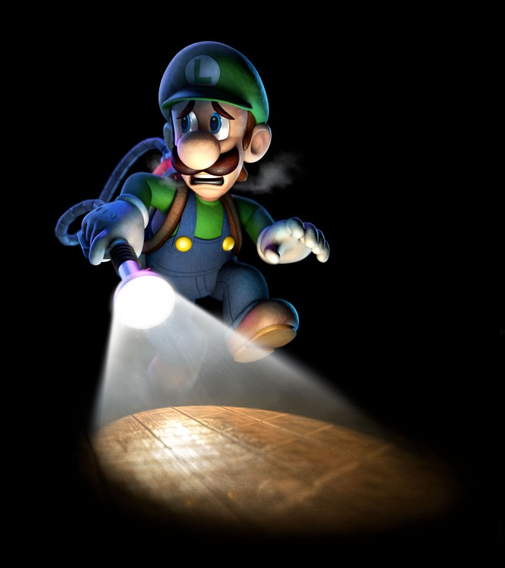 Luigi's Mansion Dark Moon art 2