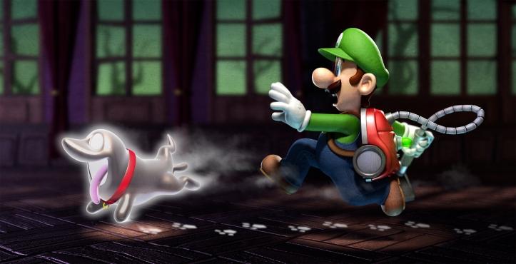 Polterpup Luigi Luigi's Mansion Dark Moon