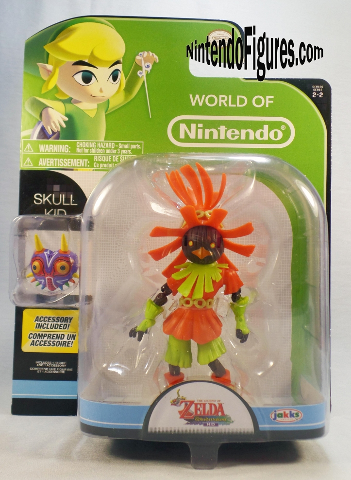 skull kid world of nintendo box front