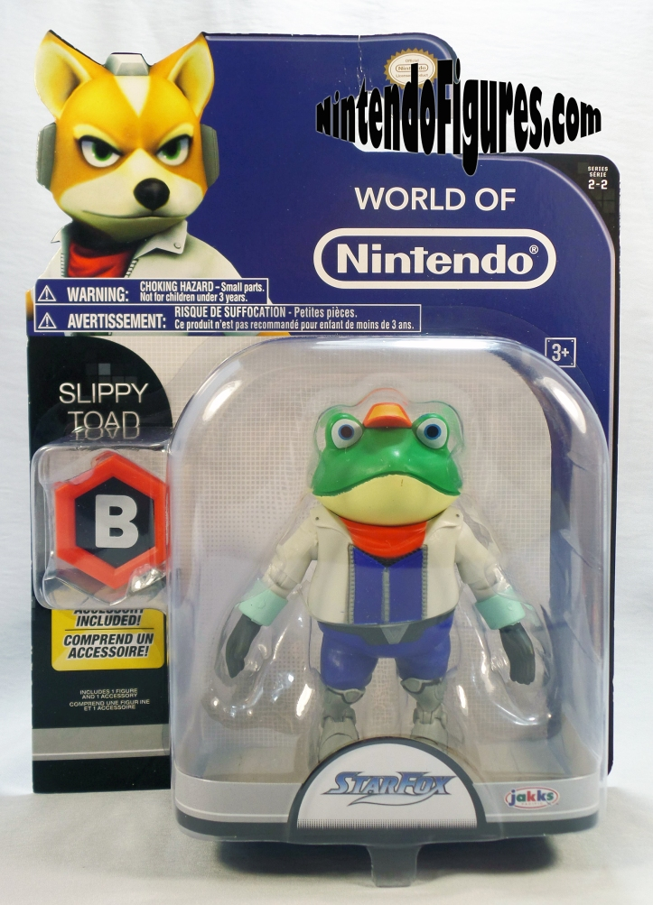 Slippy Star Fox World of Nintendo Box-1