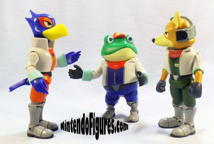 Slippy Star Fox World of Nintendo with Fox and Falco
